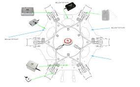 dji s900 owners th mini build log dji forum s900 a2 placements