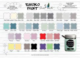 Colour Chart Tjhoko Paint