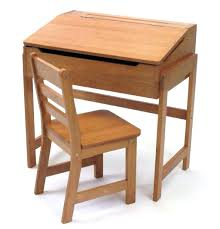 kids wooden desk chairs furniture solid wood study and chair set with slanted top childrens table john lewis
