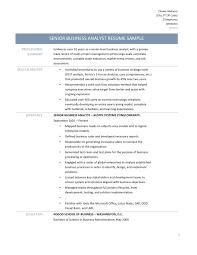 Resume Of A Sap Business Analyst Sidemcicekcom