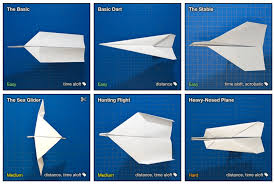 Paper Airplane Designs That Fly Far Paper Airplane Designs Boing Boing Airplane Design