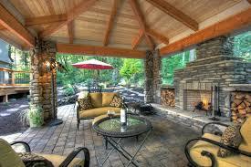 Outdoor Living Room Triyaecom Ideas For Outdoor Patio Entertainment Various