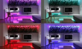 led lighting in homes. Colorful Lighting Remotely Controlled Small Slovakian Apartment Enhanced  With LED Lighting Envisioned By Rudolf Lesňák Led In Homes