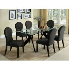glass kitchen table set adorable design of the glass kitchen tables with black x legs ideas glass kitchen table