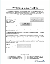How To Write A Cover Letter Sop Proposal