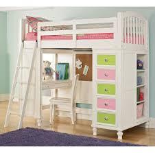 Bedroom: Unique Orange Bunk Bed For Kids Furniture With Stair Including  Green Rug - Kids