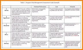 Program Management Plan Risk Management Plan Template Project Sample 224 Capture Pleasant 24 1