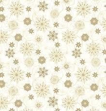 Christmas Snowflakes Pictures Elegant Christmas Snowflakes Gold Metallic Cotton