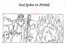 Small Picture Moses And The Burning Bush Coloring Pages New Page glumme