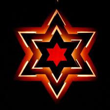 Weihnachtsstern Holzstern Beleuchtet 26x11x30 Cm Inkl Glühlampe
