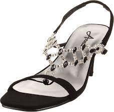 Amazon Com Annie Women S Sadie Evening Dress Sandal Flats