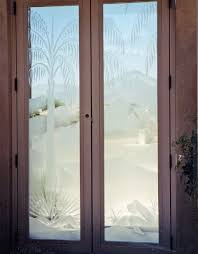 the next step is inserting the etched glass panels make sure your glass panel is etched glass type so that you know how to place the bright or un etched