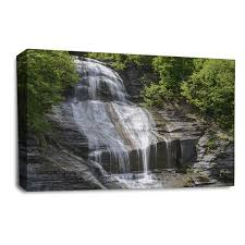 waterfall canvas wall art picture