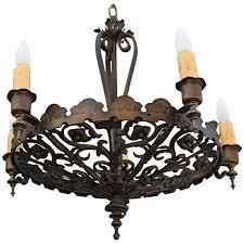 spanish revival lighting. beautiful 1920u0027s spanish revival chandelier lighting