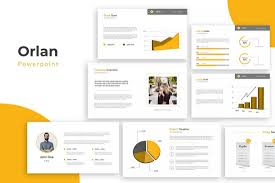 Company Overview Templates Powerpoint Template Design Download Graphic Free Behance Ppt