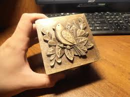 Wood Carving Dremel Wood Carving Carved Jewelry Box Carving On Wood Art Gift