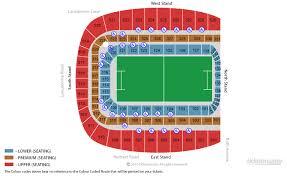 Aviva Stadium Dublin Tickets Schedule Seating Chart Directions