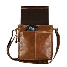 courier bag vintage men messenger bag leather