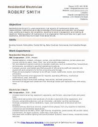 Sample Of Electrician Resumes Electrician Resume Samples Qwikresume