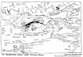 Coloring: Fishing Coloring Pages