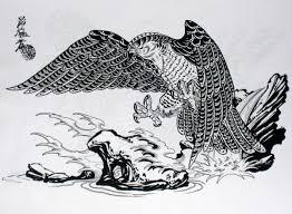мужские эскизы тату птицы