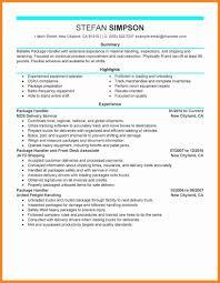 Baggage Handler Resume Baggage Handler Cover Letters Awesome Baggage Handler Resume 2