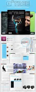 Corporate Newsletter Template 4 Print 36 Page Magazine / Newsletter ...