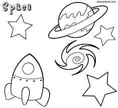 Small Picture Space coloring pages Coloring pages to download and print