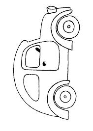 Kleurplaat Auto Színezők Feladatlapok Közlekedés Coloring Pages