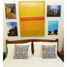 diy van gogh gallery large format printing stapled onto stretch canvas frames