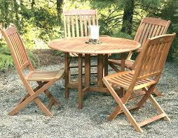 wooden patio table and chairs round wood set furniture conversation