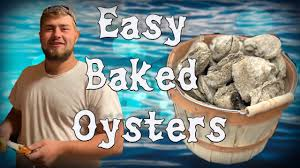 Easy Gourmet Baked Oysters Recipe with ...