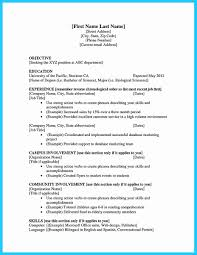 Resume Example College Student Lovely Cv Template University Student