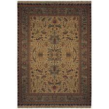 sphinx rectangular patina new zealand wool rug with bonus rug green natural