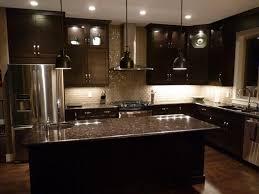 countertop lighting. Image Of: Dark Brown Kitchen Cabinets Paint Countertop Lighting N