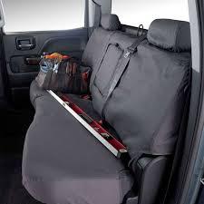 sierra rear seat cover crew cab