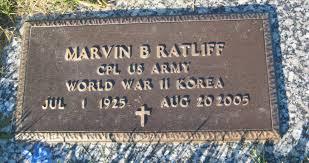 Marvin Bryan Ratliff (1925 - 2005) - Genealogy
