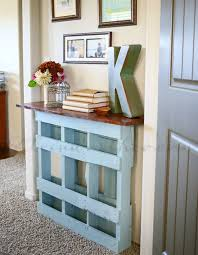 creative things to do with pallets. console table creative things to do with pallets