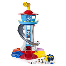 Amazon Com Paw Patrol My Size Lookout Tower With Exclusive Vehicle
