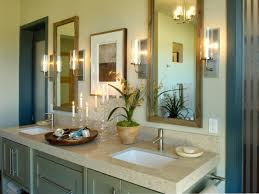 ... Bathroom, Grey Minimalist Homedepot Vanity New Design With Square  Double Sink Also Elegant Lantern Lighting ...