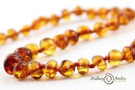 Baltic Amber Necklace - 11 inches – barefoot babies