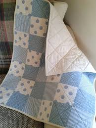 Quiltshops Blue Patchwork Baby Quilt Baby Boy By ... & Quiltshops Blue Patchwork Baby Quilt Baby Boy By Pollysprettyprints On Etsy  Eur7000 Quilts On Plum Lane Quilts For Sale Amazon Adamdwight.com