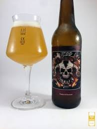 my review and pic of todd the axe man the new collaboration beer between amager amager bryghus lighting set