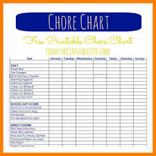 chore chart template for teenagers chore charts for teens chore chart celebrity inspired style hair and