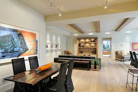 finished basement lighting. Finished Basement Lighting Contemporary With Natural Wood Floor Black Leather Recessed Lights C