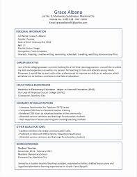 Undergraduate Resume Unique Resume Format New Resume Format And
