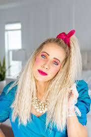 80 s hair makeup tutorial