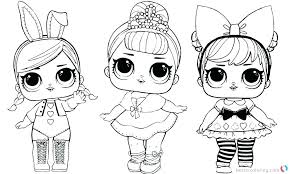Lol Dolls Coloring Pages Punk Boy Dolls Coloring Pages Free