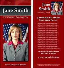 Free Election Campaign Flyer Template Election Campaign Flyer Template Representative Political Pamphlet