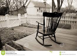 rocking chair on porch drawing. royalty-free stock photo. download old rocking chair on wooden porch drawing t